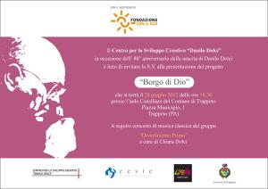 Invito 28 Giugno 2012
